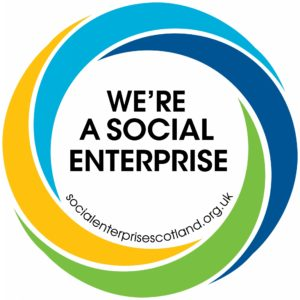 We're a Social Enterprise logo copy