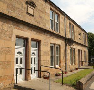 Russell Hill Court, Larbert