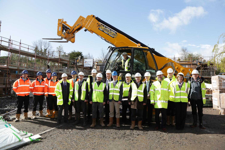Apprentices help make quick progress in Giffnock