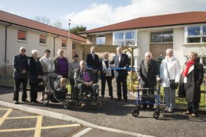 Local MSP Opens Waterford Court in Giffnock