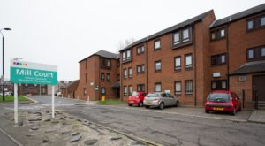 078_1 Exterior Shot of Mill Court Kilmarnock Hanover Development