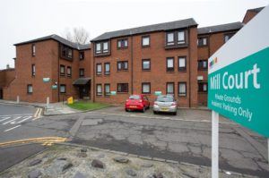078_17 Exterior Shot of Mill Court Kilmarnock Hanover Development