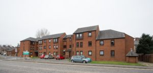 078_2 Exterior Shot of Mill Court Kilmarnock Hanover Development