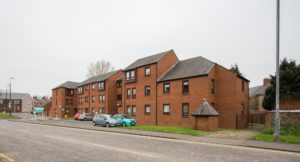 078_3 Exterior Shot of Mill Court Kilmarnock Hanover Development