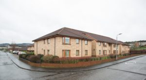 191_5 Exterior Shot of Newton Court Paisley Hanover Development