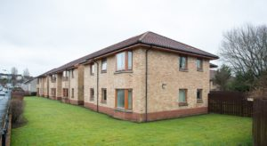 191_6 Exterior Shot of Newton Court Paisley Hanover Development