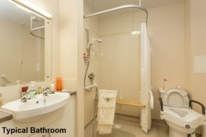 Picture of Typical Bathroom - Ailsa Court Paisley