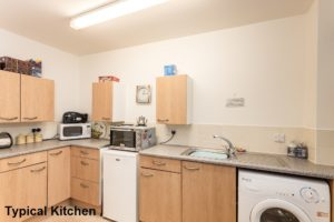 Internal Shot of Typical Kitchen - Glengowan Court Larkhall