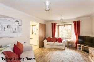 Internal Shot of Typical Living Room - Glengowan Court Larkhall