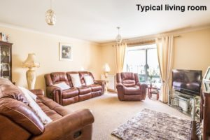 Picture of Typical Living Room - Princess Court Kilmarnock