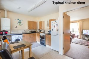 Picture of Typical Kitchen Diner - Princess Court Kilmarnock
