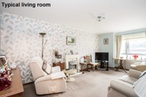 Picture of Typical Living Room - Dowding House Moffat