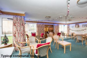 001 - Interior Shot of Typical Communal Lounge - Hanover Close Nitshill