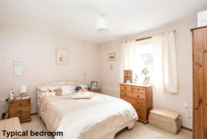 001 - Interior Shot of Typical Bedroom - Hanover Close Nitshill