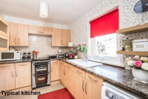 001 - Interior Shot of Typical Kitchen - Hanover Close Nitshill