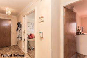 001_200 - Interior Shot of Typical Hallway Banktop Court Johnstone Development