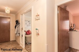 001_156 - Interior Shot of Typical Hallway McAlpine Court Wishaw Development