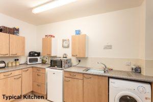 001_200 - Interior Shot of Typical Kitchen Banktop Court Johnstone Development