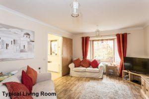 001_168 - Interior Shot of Typical Livingroom Woodburn Court Hamilton Development
