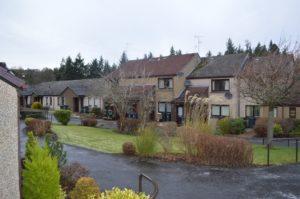 External Shot of Larchfield Neuk - Hanover Scotland Housing - 004