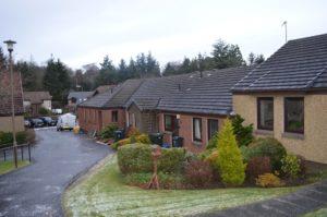 External Shot of Larchfield Neuk - Hanover Scotland Housing - 005