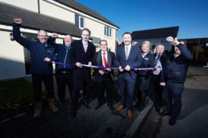 Work on 10 new Hanover homes in Ayr completed