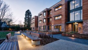 Exterior Shot of Kesson Court Hanover Scotland Development