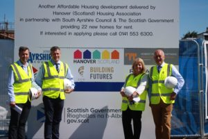 MSP welcomes 'much needed' Ayr social housing