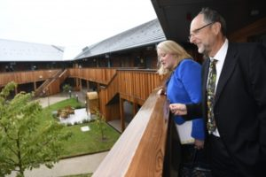 Minister opens award-winning North-East Scotland social housing site