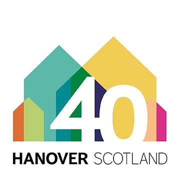 Hanover Scotland 40th logo