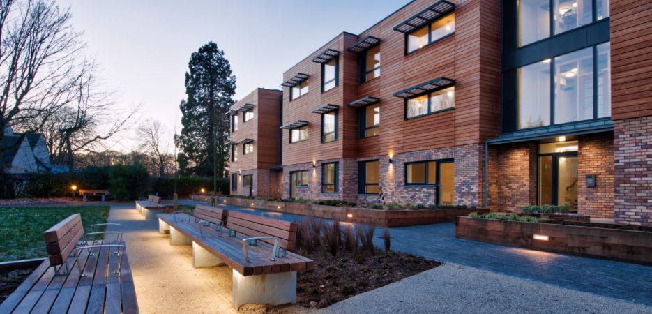 Exterior Shot of Kesson Court Hanover Scotland Development