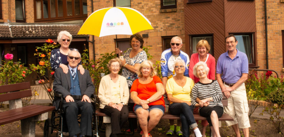 New Hanover residents from Arklet housing association